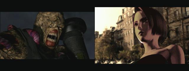 招牌反派角色「追跡者」和女主角「吉兒」。(圖片來源:遊戲實機截圖)