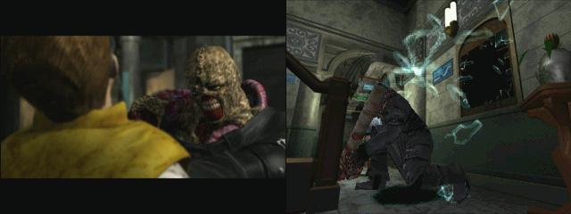 神出鬼沒的生物兵器「追跡者」,會不斷地追殺玩家。(圖片來源:遊戲實機截圖)
