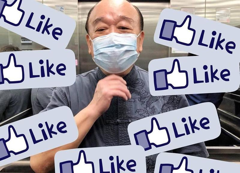 吳斯懷在Instagram創立「大小蕃薯の上班日常」,試圖貼近年輕族群,不過有網友不接受狠酸反問「中國可以用IG?」(翻攝自tellmehuai IG)