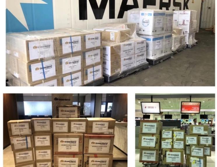 澳洲媒體接獲爆料,中資企業綠地集團早在今年1、2月就透過國外的公司大舉搜刮採購醫療物資。(翻攝自《雪梨晨驅報》官網)