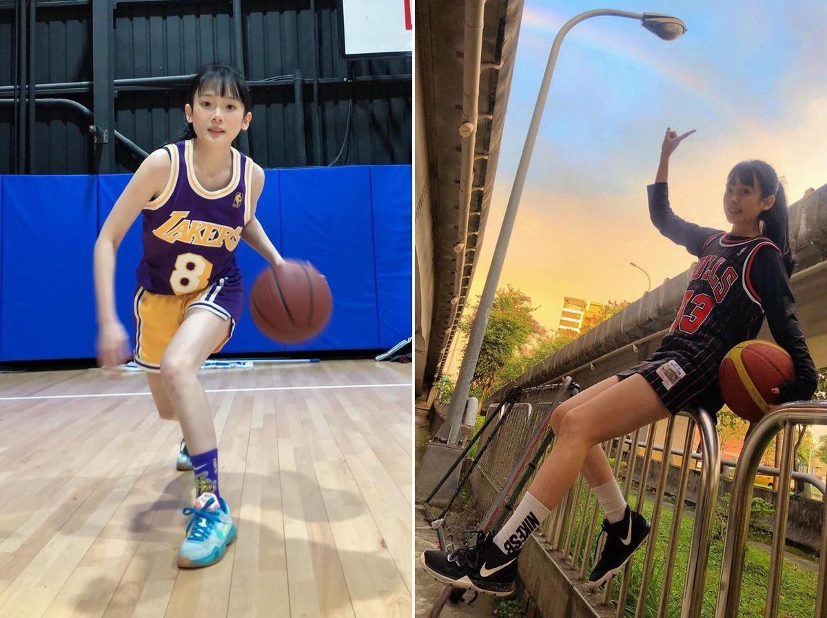 王宇君平日幾乎都是分享穿球衣打球的照片。(圖翻攝自王宇君IG)
