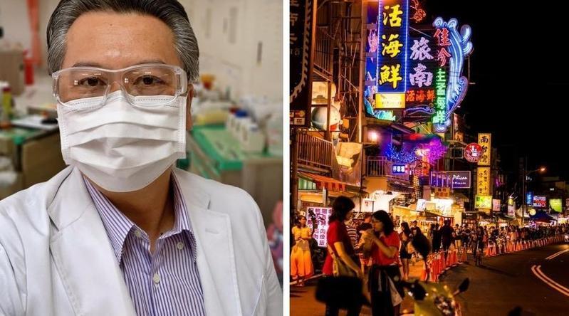 醫師陳志金在粉絲團貼文,指出疫情是否受到衝擊的揭曉時間點。(翻攝自「Icu醫生陳志金」粉絲團、維基百科)
