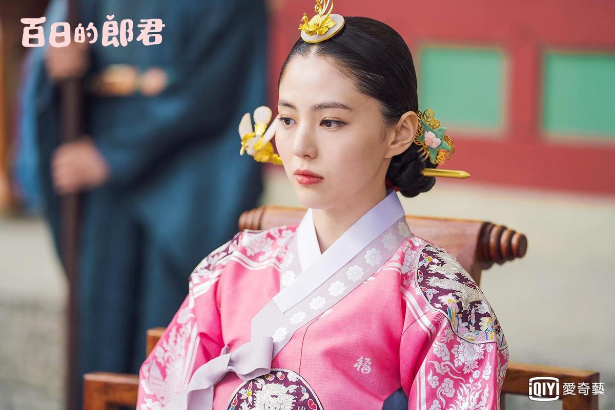 韓素希在《百日的郎君》演太子妃。(愛奇藝台灣站提供)