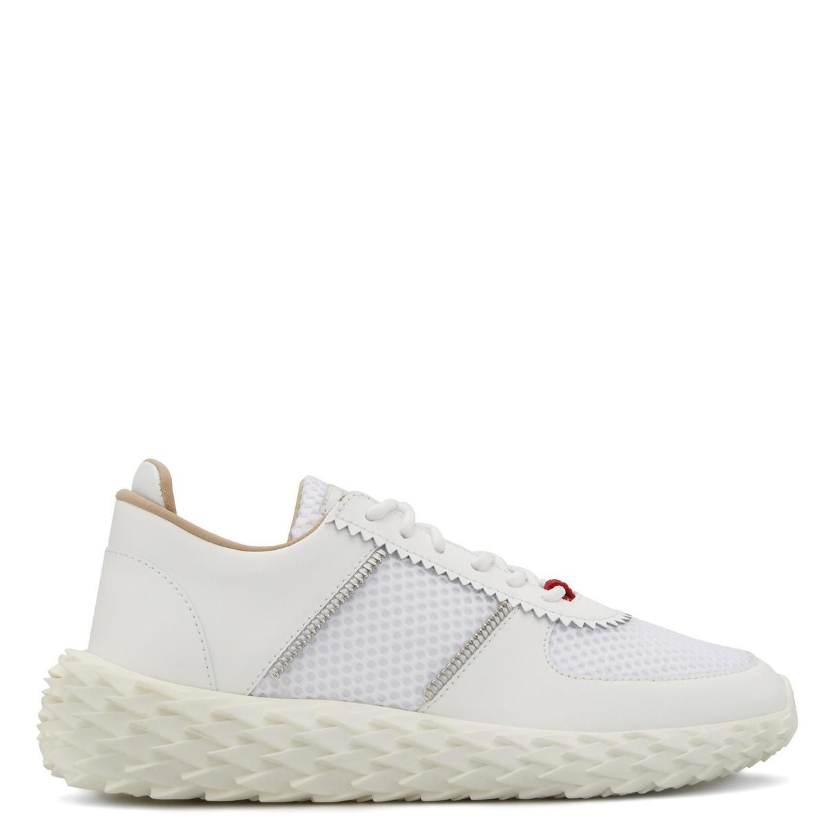 白色Urchin休閒鞋 價格店洽 GIUSEPPE ZANOTTI。(GIUSEPPE ZANOTTI提供)