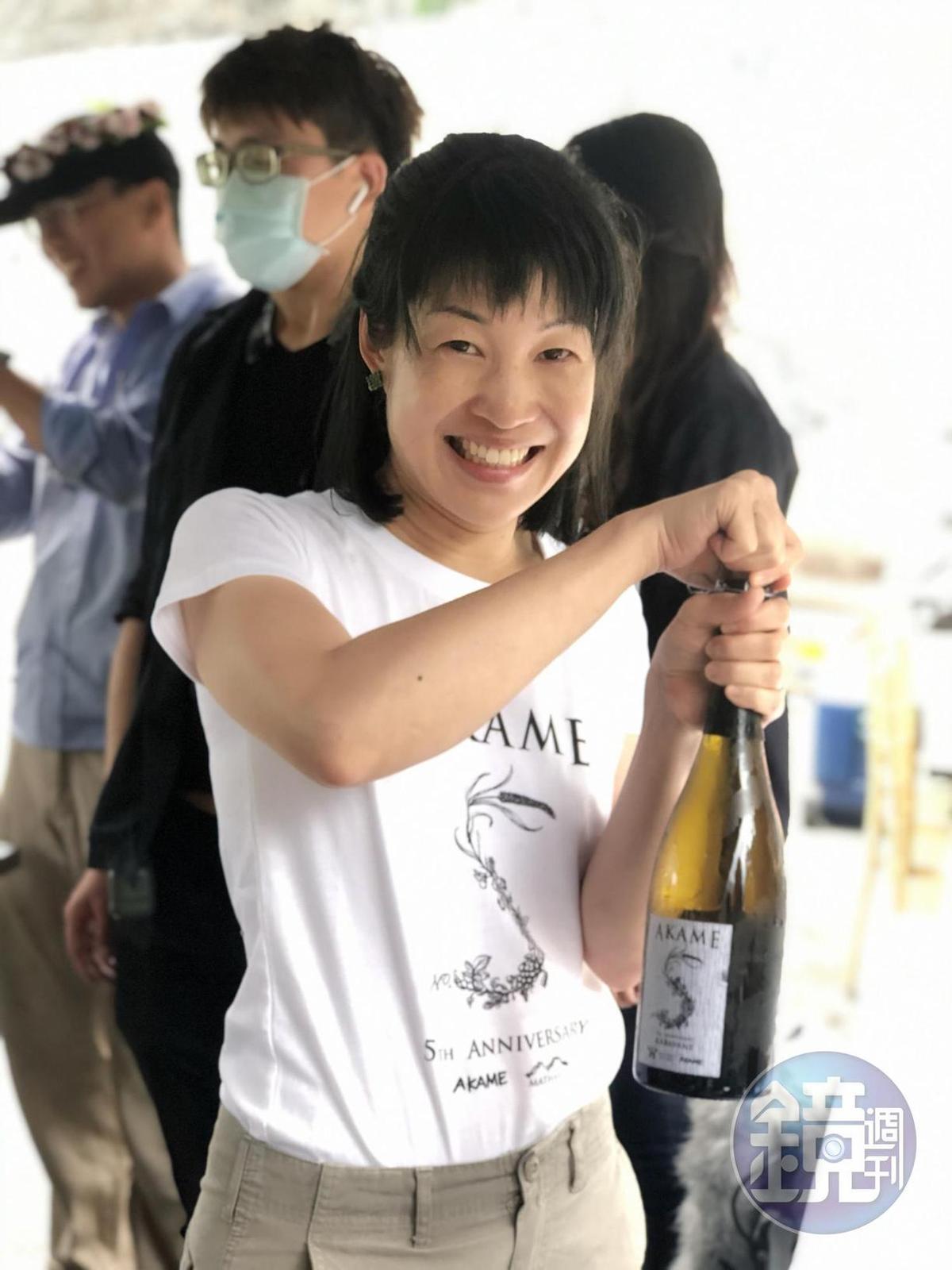 楊仁亞喜歡挑戰各種類型的葡萄酒形式,樂於跨界合作。