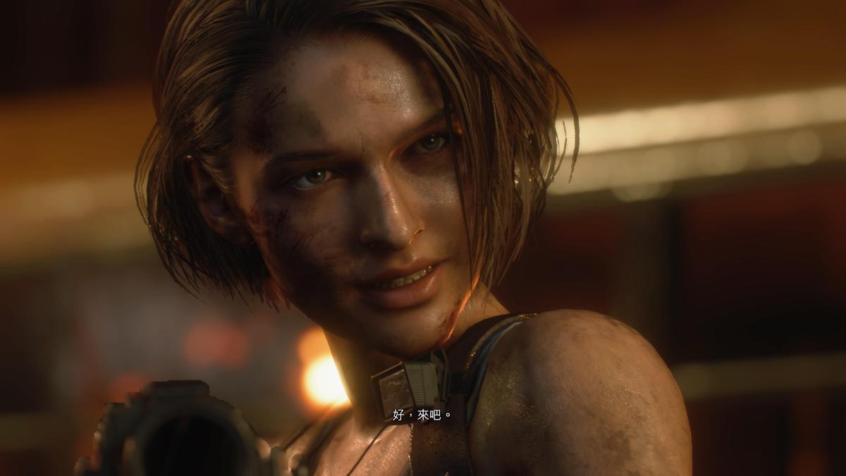 造型更寫實俐落的女主角「吉兒」。(圖片來源:實機遊玩截圖)