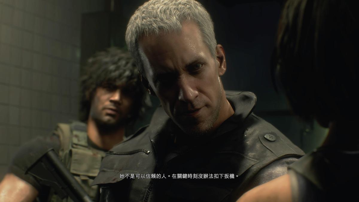 雨傘企業傭兵「卡洛斯」、「尼可拉」等角色也會以寫實的造型在本作中登場。(圖片來源:遊戲實機截圖)