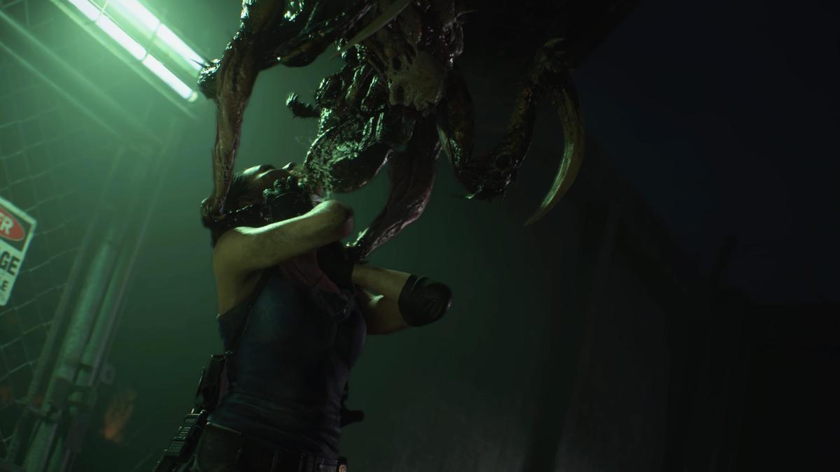經典的生物兵器「陰溝惡魔」在重製版也會登場。(圖片來源:遊戲實機截圖)