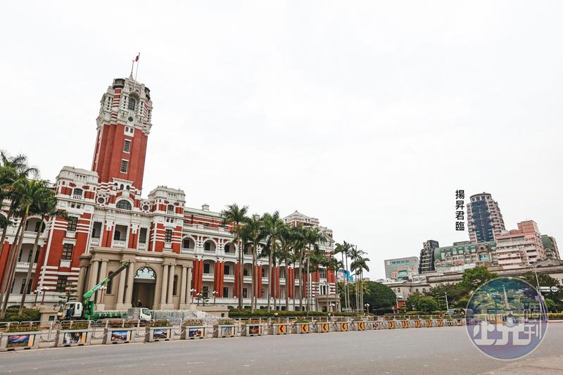 警方在距總統府僅400公尺的豪宅「揚昇君臨」16樓,查獲職業賭場。