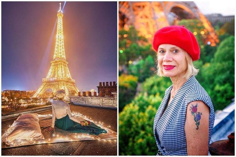 美國68歲的旅遊網紅琳達,迄今已經造訪二十幾個國家。(翻攝自Linda Malys Yore IG)