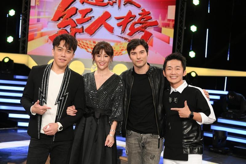 素人歌唱挑戰節目《超級紅人榜》播出以來一直是同時段收視之冠,本週來賓是與許志豪及鄭仲茵、鳳小岳及蔡昌憲。(三立提供)