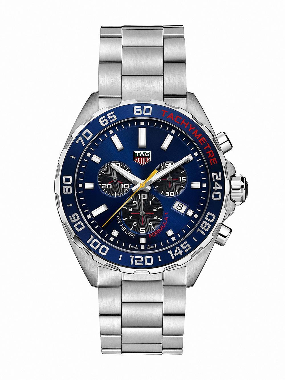 TAG Heuer ASTON MARTIN 紅牛F1車隊2020特別版聯名腕錶 參考編號CAZ101AB.BA0842 建議售價NT$55,500