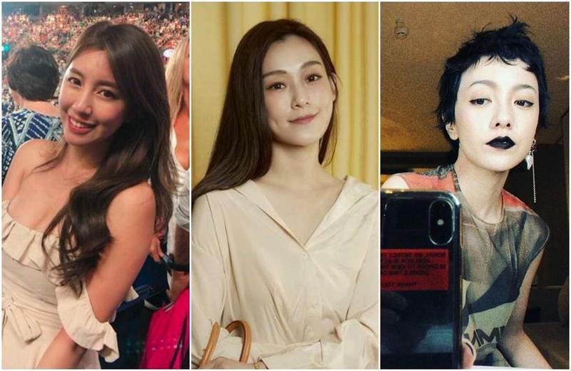 辜菀允(左起)自曝因為偷拍事件掉了工作,范瑋琪、郭采潔也曾發言惹議。(翻攝自臉書)
