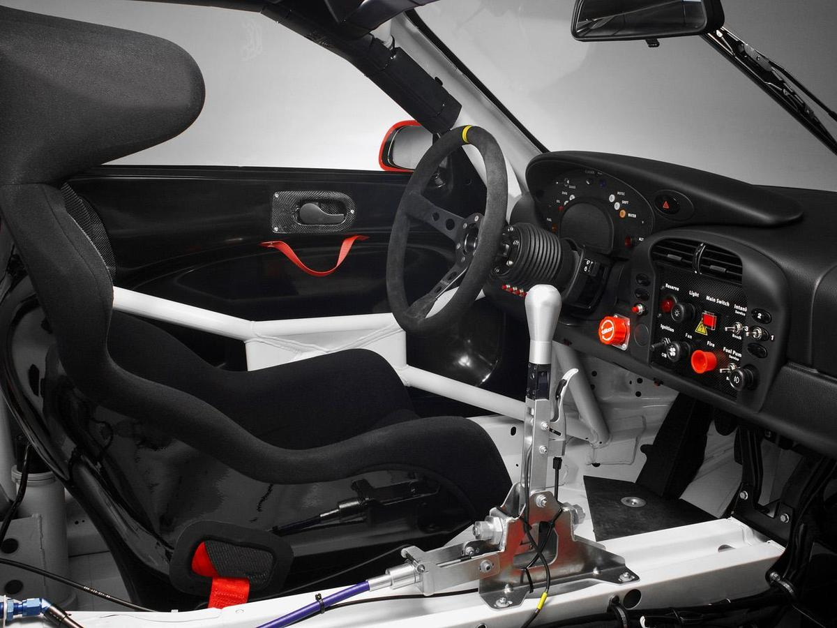 2004年Porsche 911 GT3 RSR方向盤。