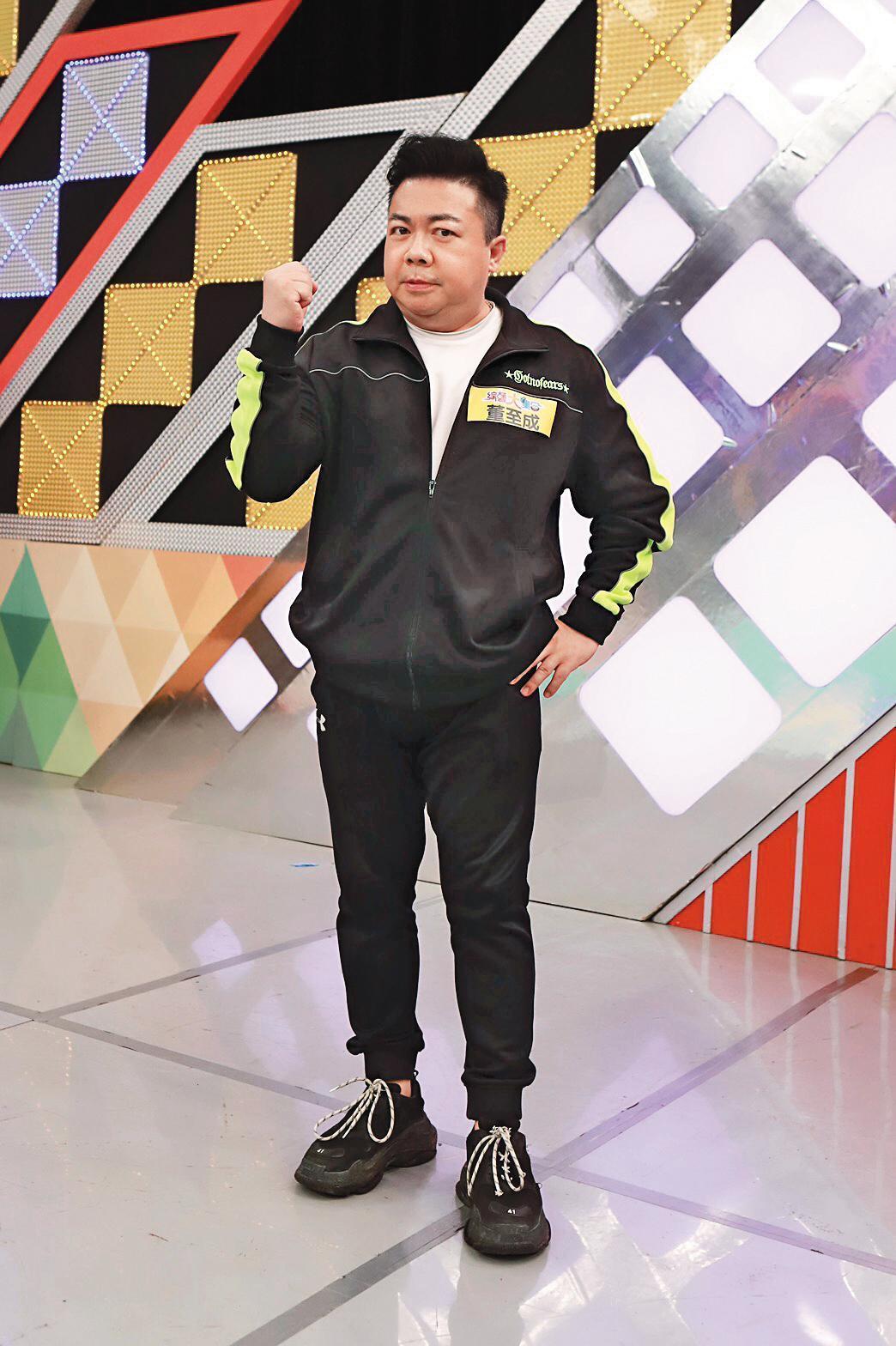 董至成因為婚變,最近在台灣演藝圈風風火火緊抓話語權,出招猛攻老婆羅若云。(民視提供)