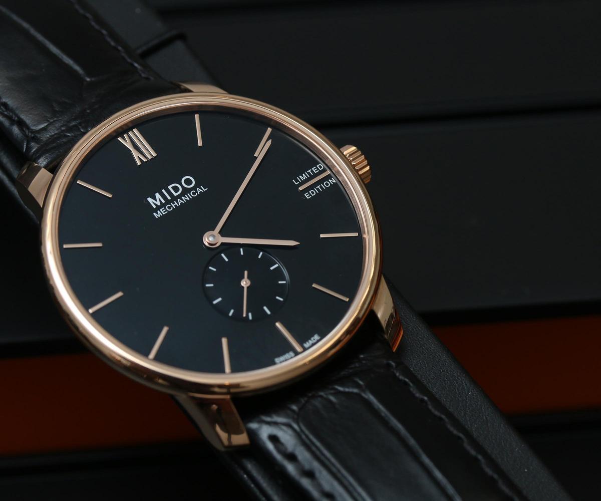Baroncelli II Mechanical手上鏈腕錶,全球限量2020只,定價NT$38,600。