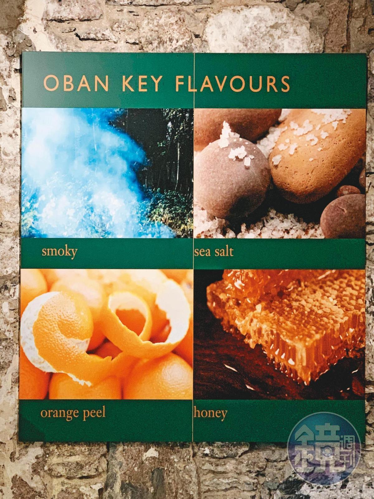 歐本酒廠的4個主要風味,分別是煙燻、橘子、海鹽、蜂蜜,可說是既衝突又融合。