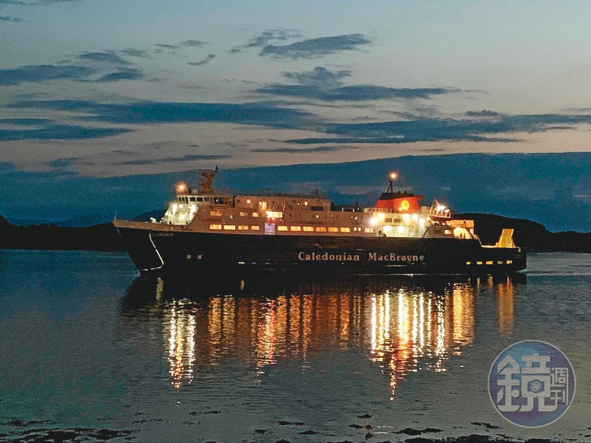 蘇格蘭最大的渡輪公司Caledonian MacBrayne(簡稱CalMac),旗下航線頗多,且相當舒適。