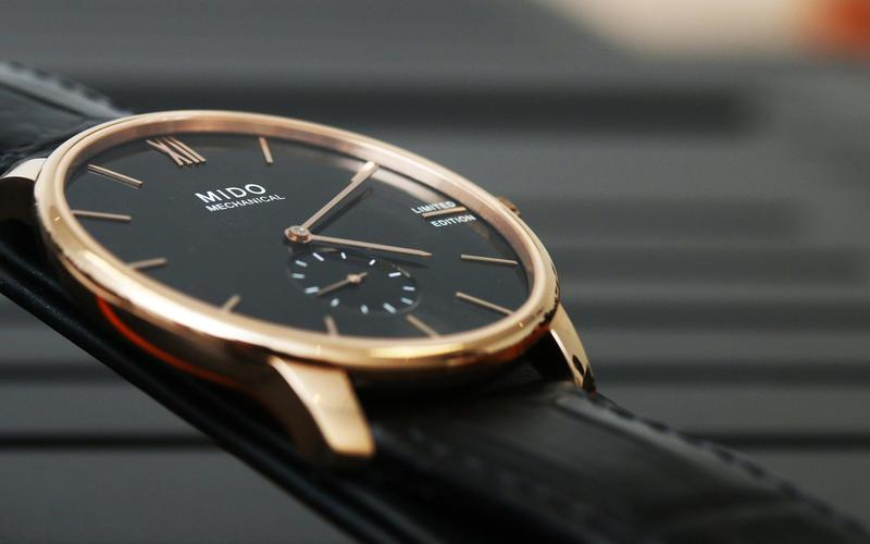 2020年美度新品中最有話題的錶款之一:Baroncelli II Mechanical手上鏈腕錶,而這也是美度至今最薄的手上鏈作品。