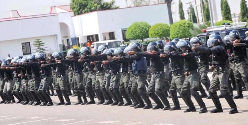 奈及利亞當局被指控,安全部隊和警方在執行防疫封鎖期間違法殺害18人。(翻攝自www.npf.gov.ng/)