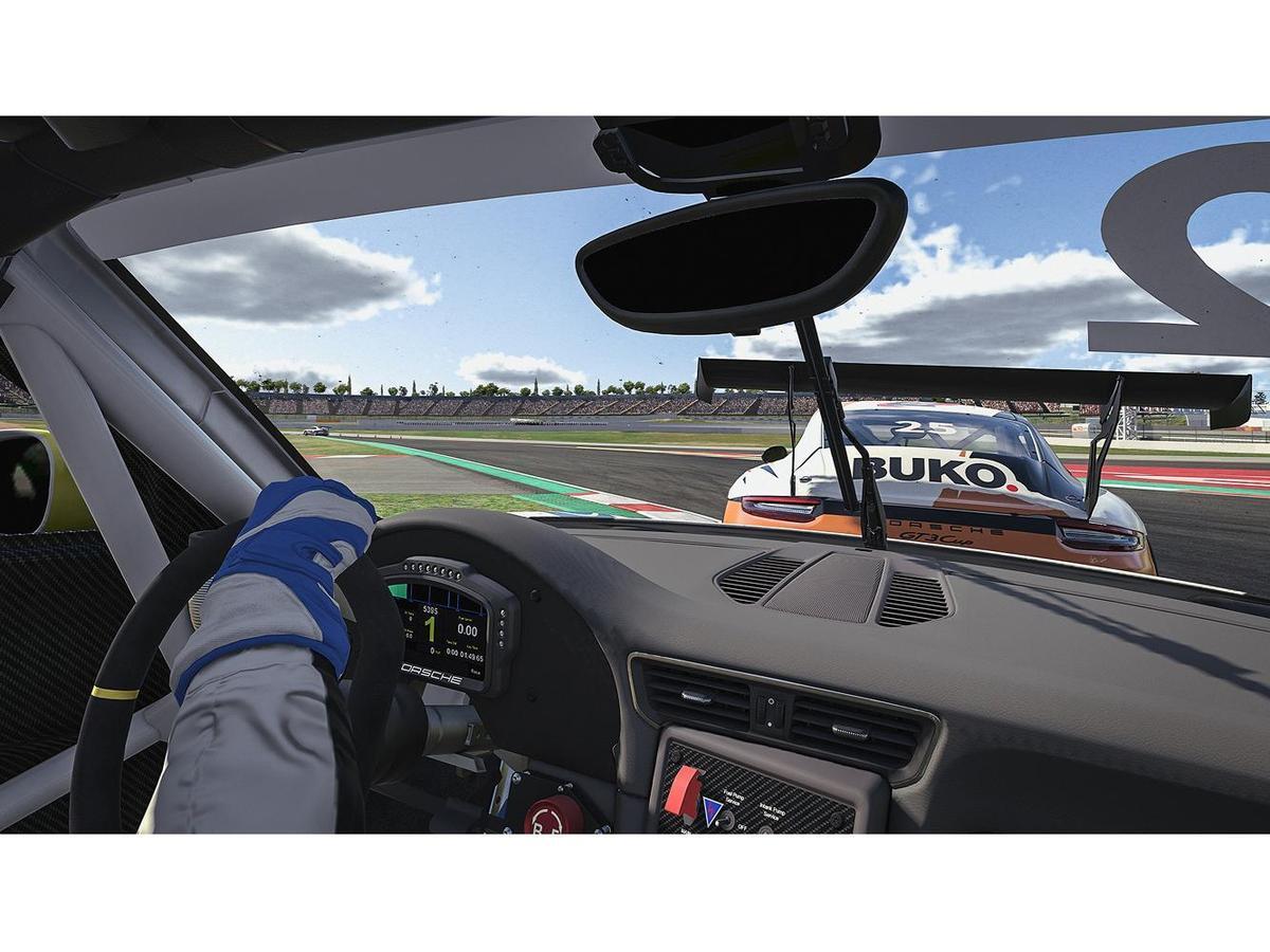 第一回合冠軍Larry ten Voorde駕駛畫面。