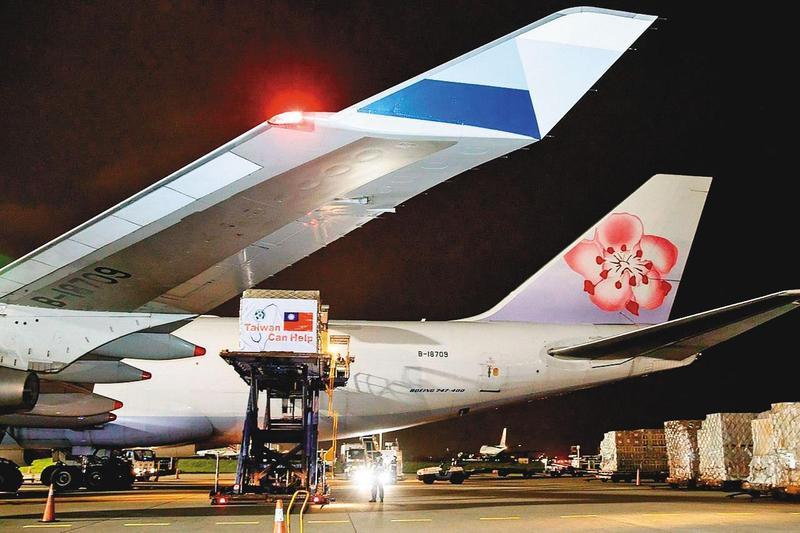 針對華航改名議題,從蔡英文到蘇貞昌口徑一致,都是避談改名,強調應在華航機身增加辨識度。(外交部提供)