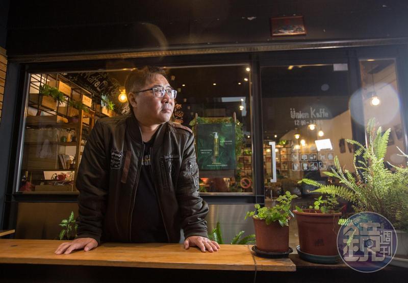 林慶祥看起來海派,隨便開口就是有頭有尾的警察故事,其實內心有文學夢,大學就得過文學獎。