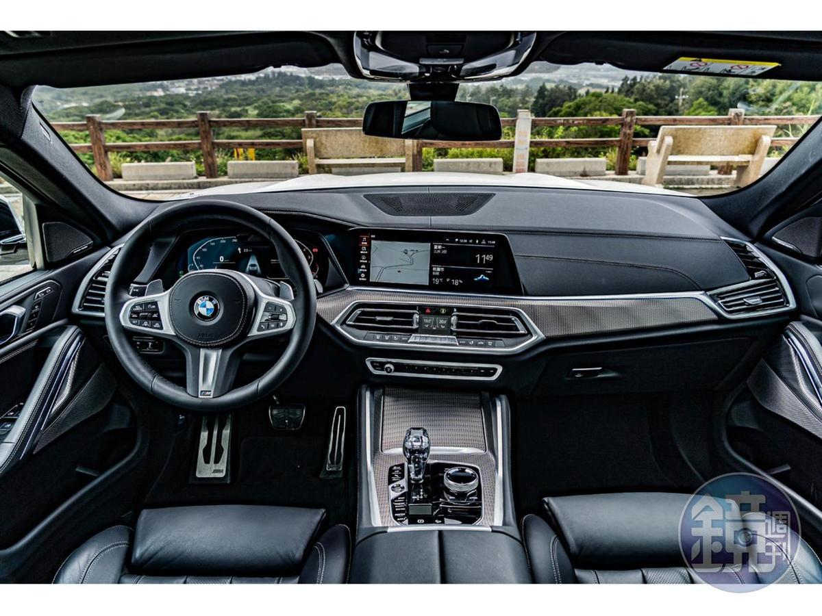 車室座艙基本上則與G05 X5相同,集奢華與熱血於一身。