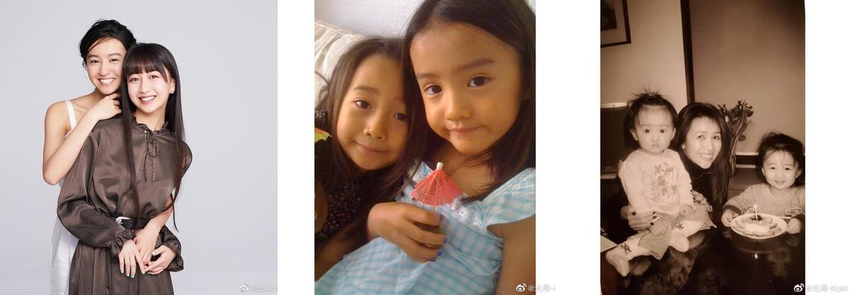 木村光希貼出不少她與心美的兒時舊照,從小到大姐妹感情都極好。