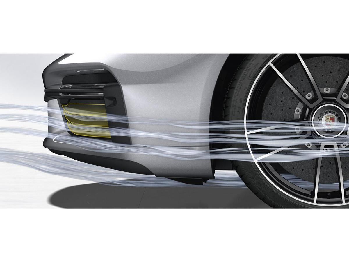 時速70 km/h時冷卻空氣閥門會完全關閉,在日常行駛中創造低風阻以提升油耗表現。