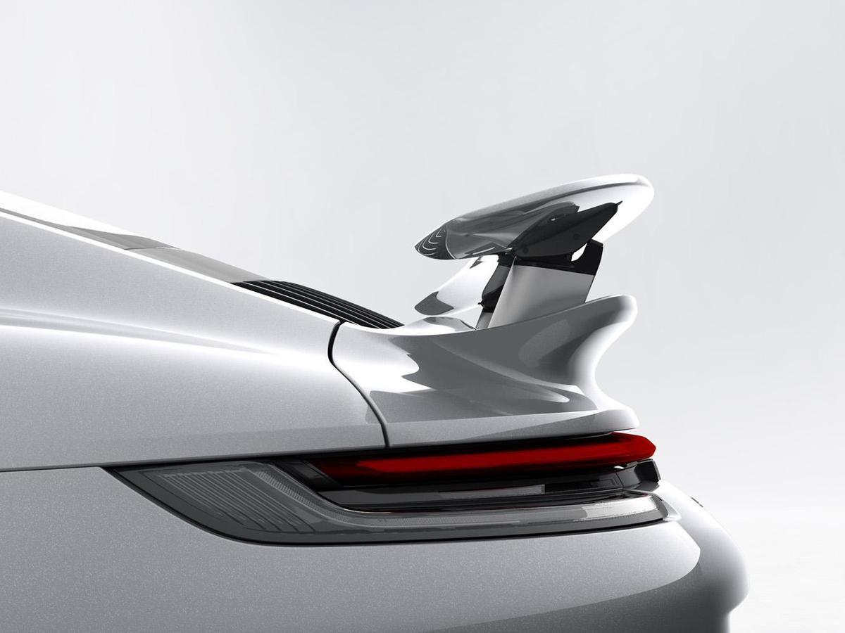 尾翼在「Performance位置」。