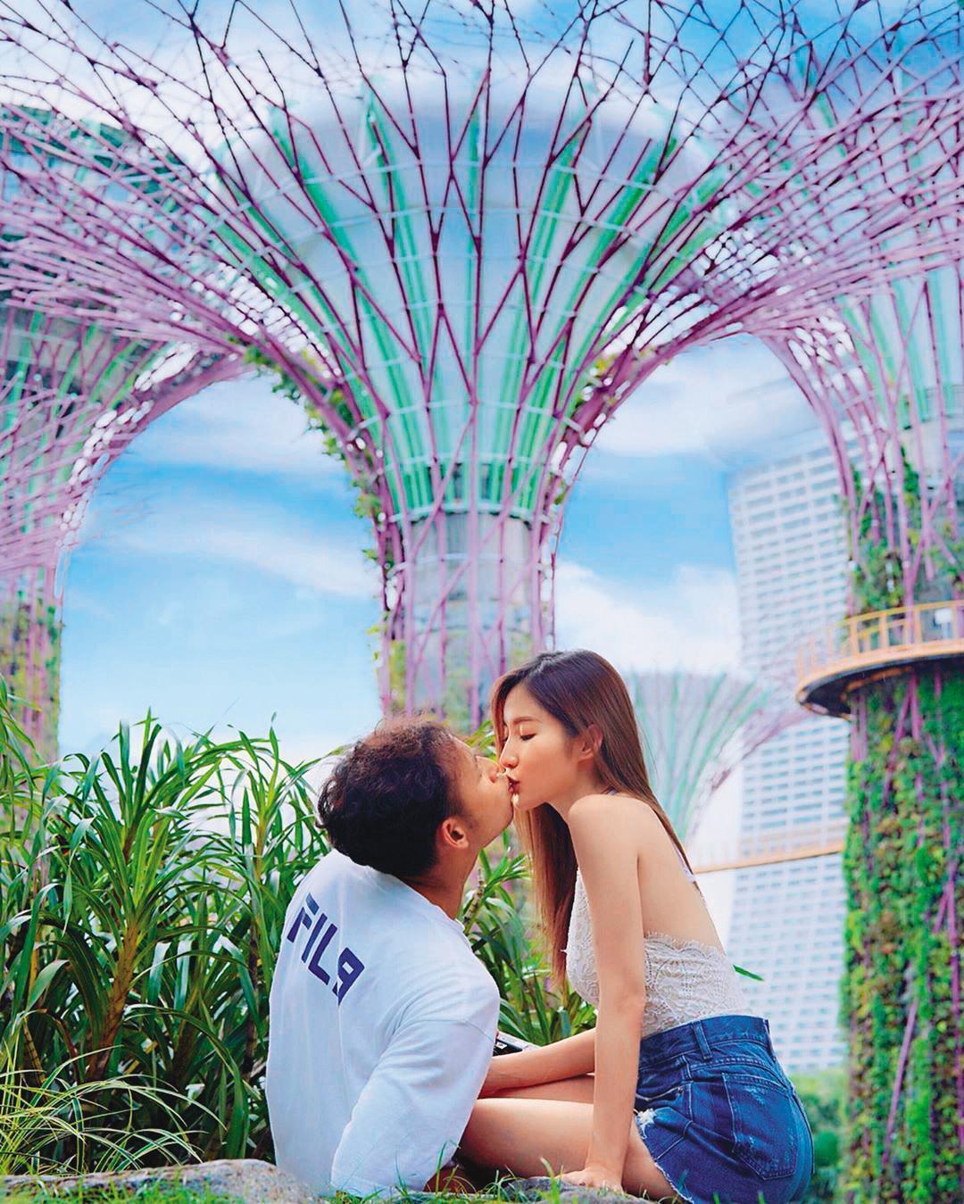 楊政龍(左)花邊很多,曾與容祖兒傳出緋聞,不過,去年他公開與女友黃子菲(右)懷孕喜訊,決定今年結婚。