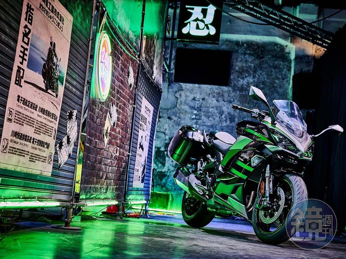 Kawasaki Ninja系列深受不少消費者喜愛。