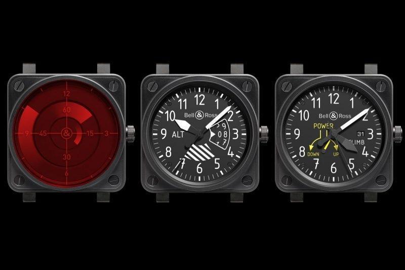 BELL & ROSS 於2010年開始以機艙儀表板上的飛行儀器為面盤設計主題,並獨立成為一個可供收藏的系列。