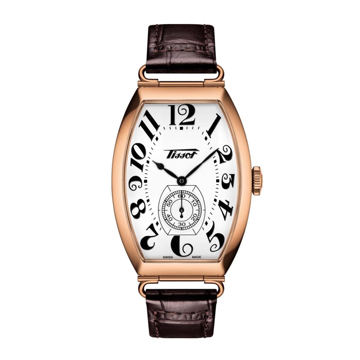 天梭Heritage Porto手上鏈腕錶,定價NT$37,600。