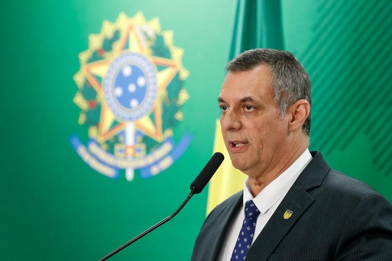 巴西總統發言人巴羅斯(Otavio do Rego Barros)確診新冠肺炎。(取自Flickr:Palácio do Planalto)