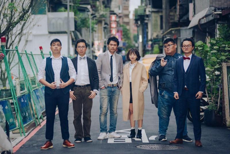 不少站立喜劇演員都出自卡米地,左起為馬克吐司、大鵰博士、壯壯、么么、大可愛和Q毛。(翻攝自npac-weiwuying.com.org)