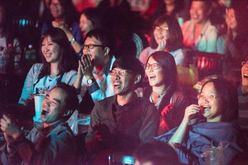 張碩修表示,很多觀眾嘗鮮之後就不會再回鍋觀賞現場喜劇表演。(卡米地提供)