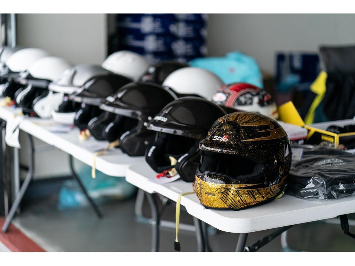 參加賽道日的車主必須自備3/4式以上等級的安全帽才能下場。(TreeAction提供)