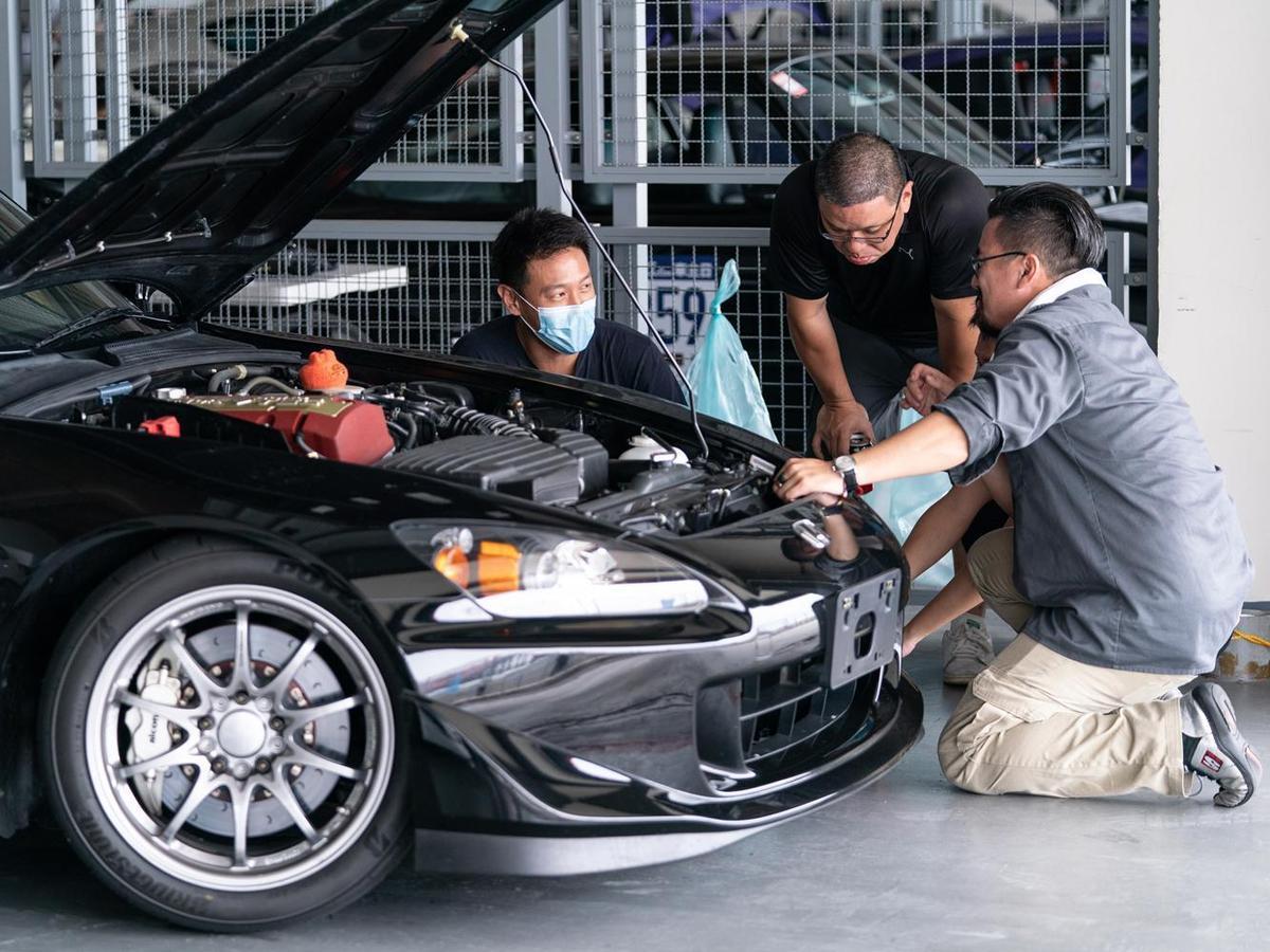 下場前在Pit區內的車輛整備攸關非常重要。(TreeAction提供)