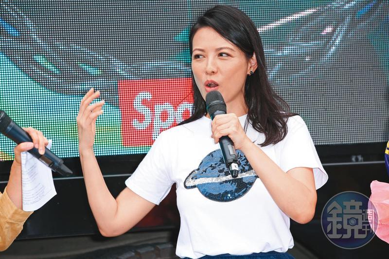 陳孝萱的媽媽味展露無遺,而且難得帶著自己與前夫詹仁雄的兒子出場,具有加乘話題效果。