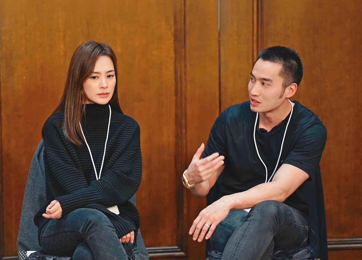 賴弘國(右)跟阿嬌結婚後知名度大開,兩人更曾一起上大陸真人秀節目《爸媽學前班》大賺人民幣。(東方IC)