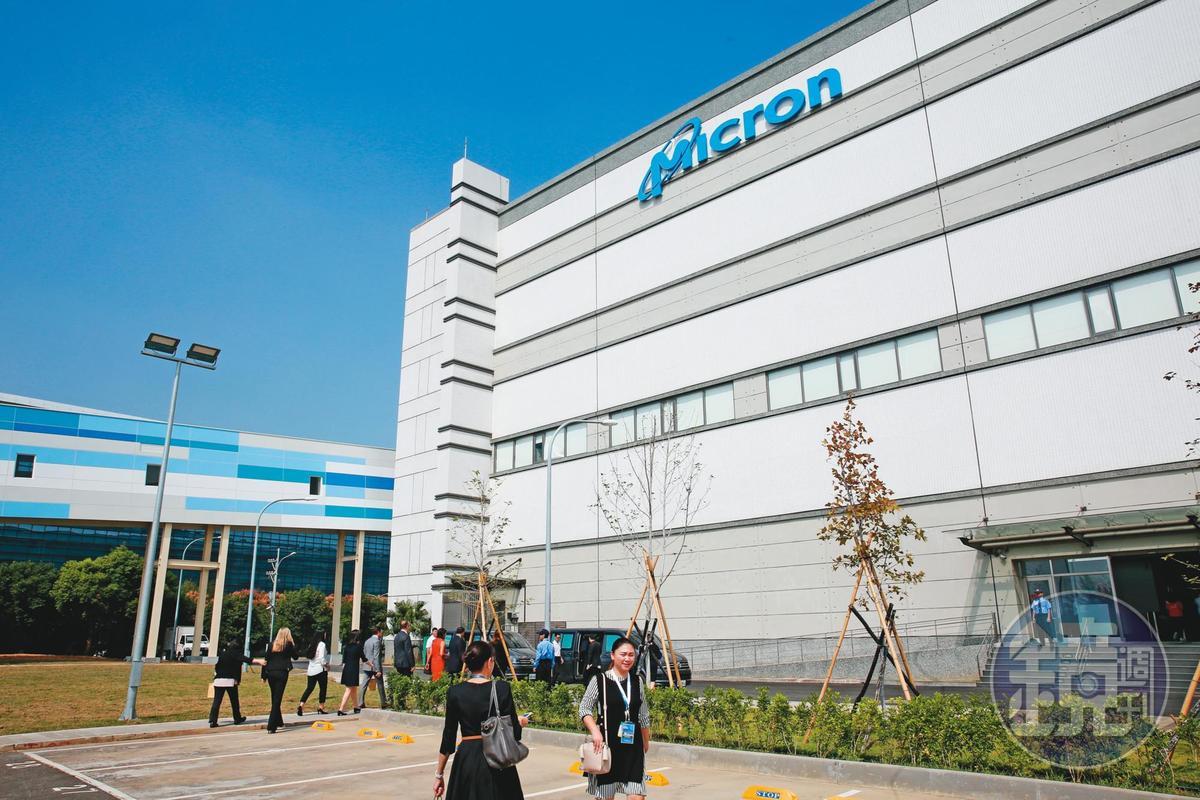 記憶體大廠美光近年投資總額超過新台幣4千億元,是投資台灣的最大外商。