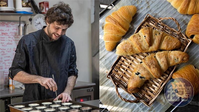 法國人Adrien Lucchini愛上宜蘭的生活節奏,開了一間有如鄰居般親切的麵包店「艾德理法式烘焙」。