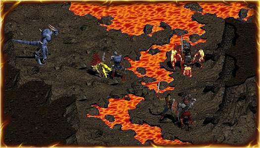 最終拍板的《暗黑破壞神 3》整體色彩較為鮮豔。(翻攝暴雪官網)