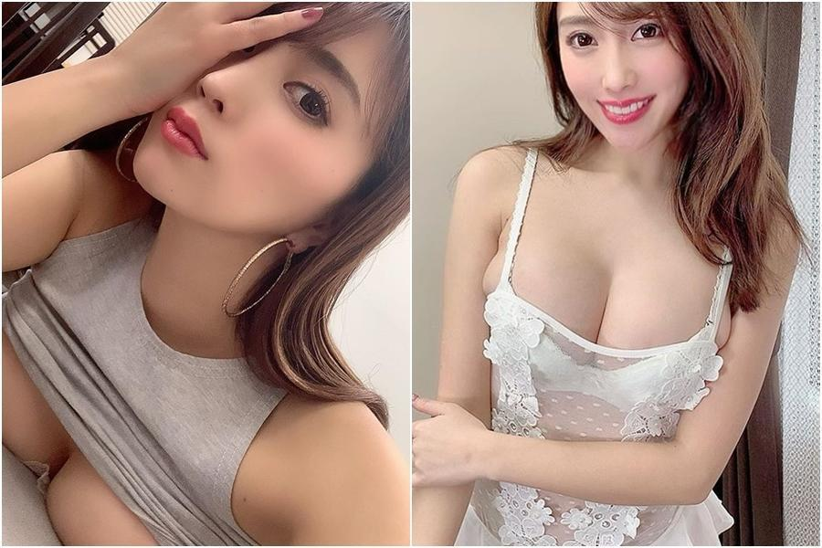森咲智美經常在IG上貼出清涼火辣的照片,每張都讓人猛噴鼻血。(翻攝森咲智美IG)