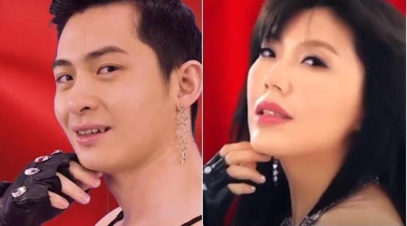 YouTuber博恩發布歌曲〈TAIWAN〉,神還原劉樂妍〈CHINA〉MV。(翻攝自YouTube)