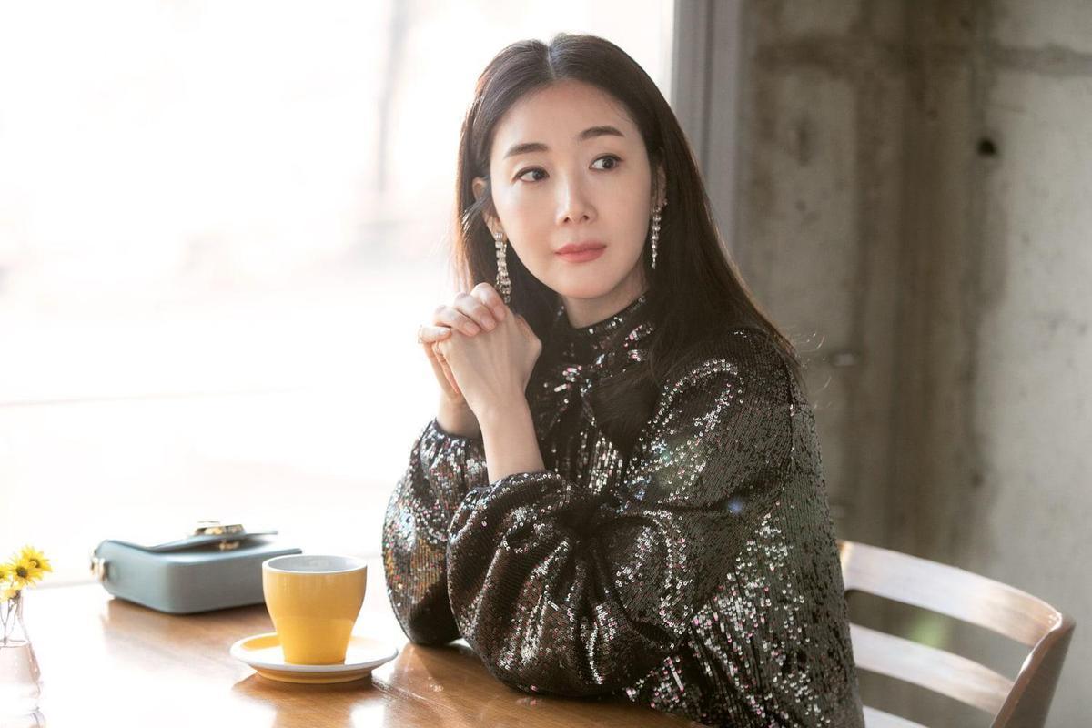 崔智友曾挺著孕肚客串《愛的迫降》。(翻攝自網路)