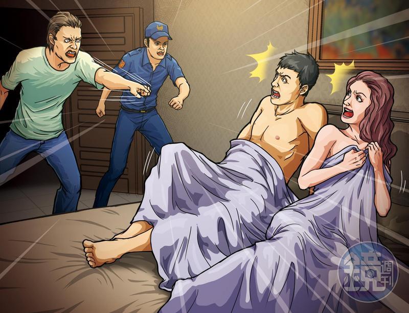 李姓男子帶鄭姓妻子參加換妻性愛,後來妻子自找男伴,遭丈夫抓姦後,雙方大打法律戰。