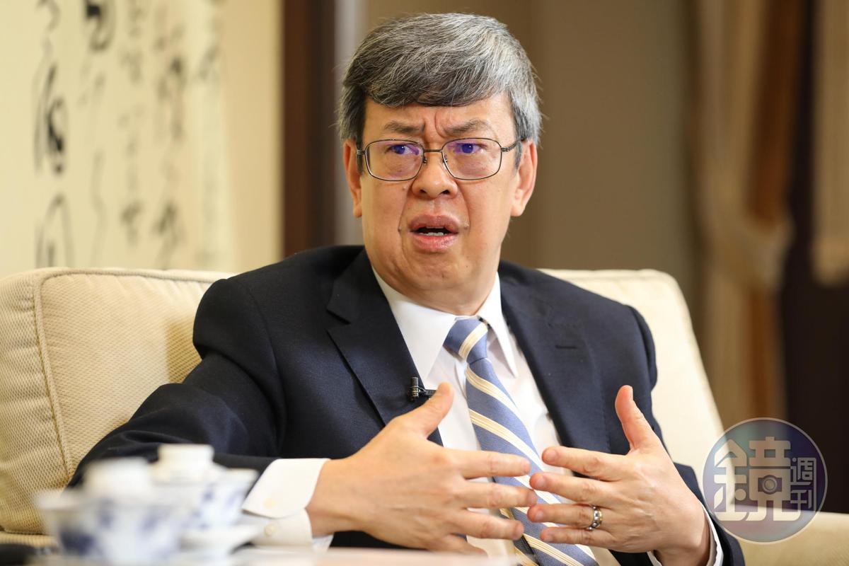 副總統陳建仁將於明正是卸任,重返中研院擔任特聘研究員。(本刊資料照)